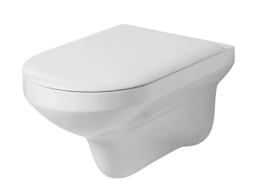 Back to wall wall-hung ceramic toilet THIN   Back to wall toilet by Azzurra Ceramica