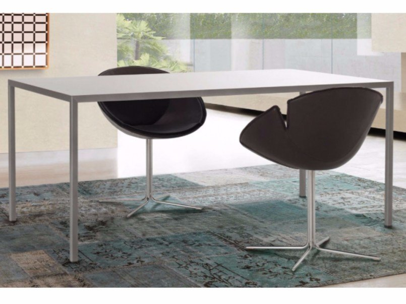 Metal table THIN by Zalf