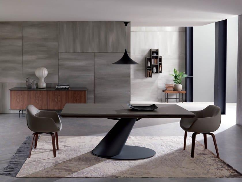 THOR | Mesa de cemento By Ozzio Italia diseño Giulio Manzoni