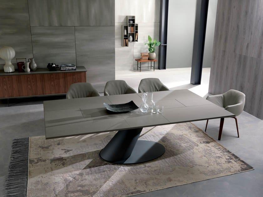 Tavolo Ozzio Design.Thor Cement Table By Ozzio Italia Design Giulio Manzoni