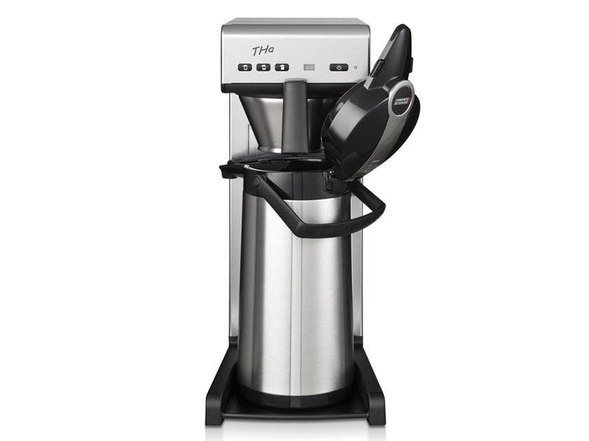 Stainless steel coffeemaker with water connection THa by Bravilor Bonamat