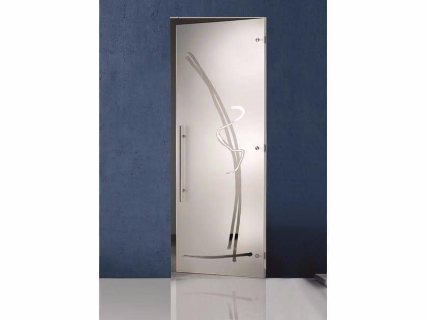Hinged glass door TIARE by Casali
