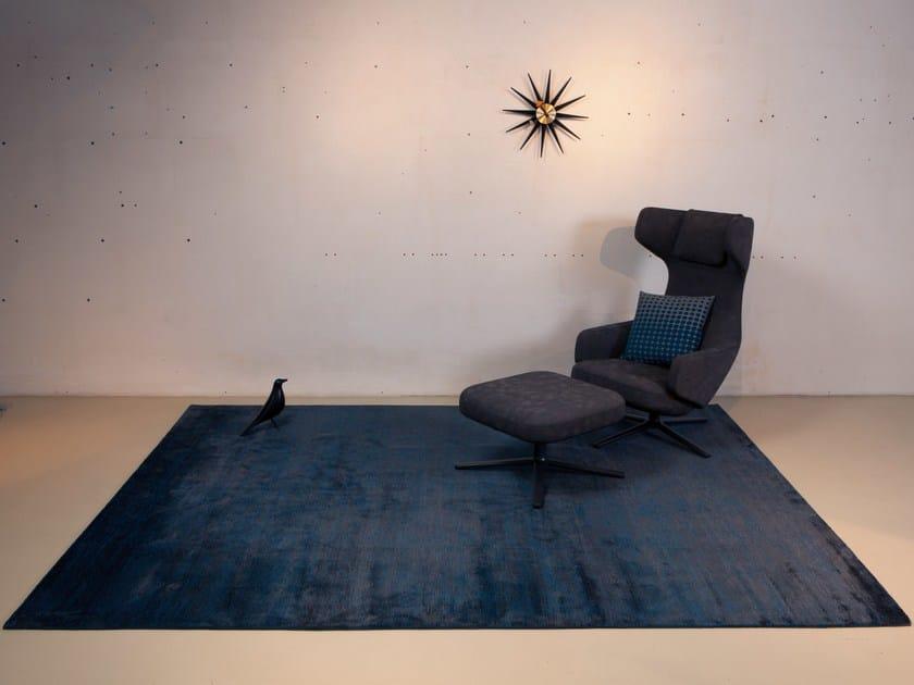 Tappeto fatto a mano in lana su misura TIBEY UNI by Mischioff