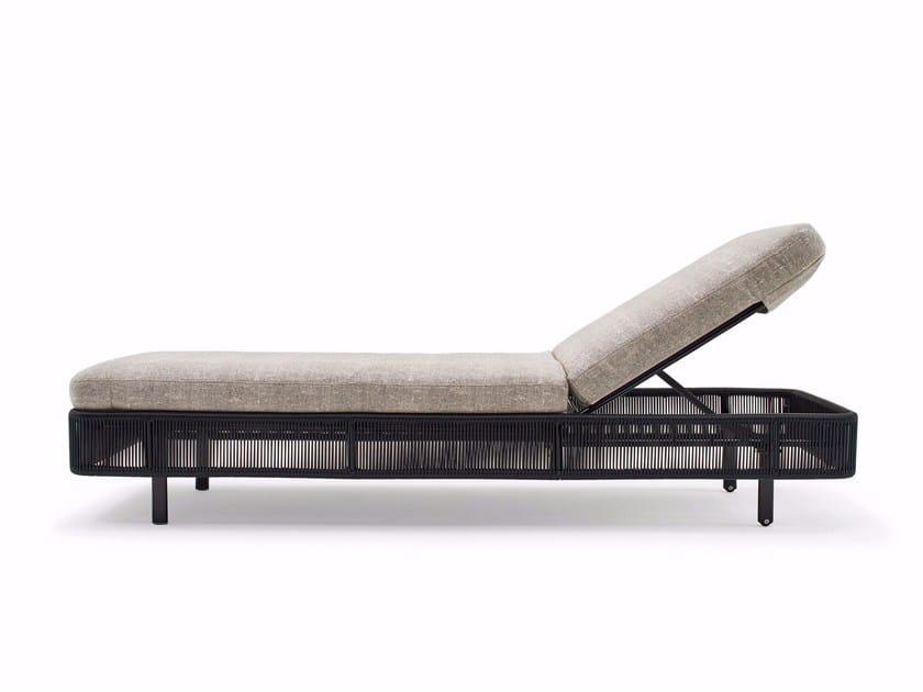 Lettino da giardino reclinabile TIBIDABO | Lettino da giardino by Varaschin