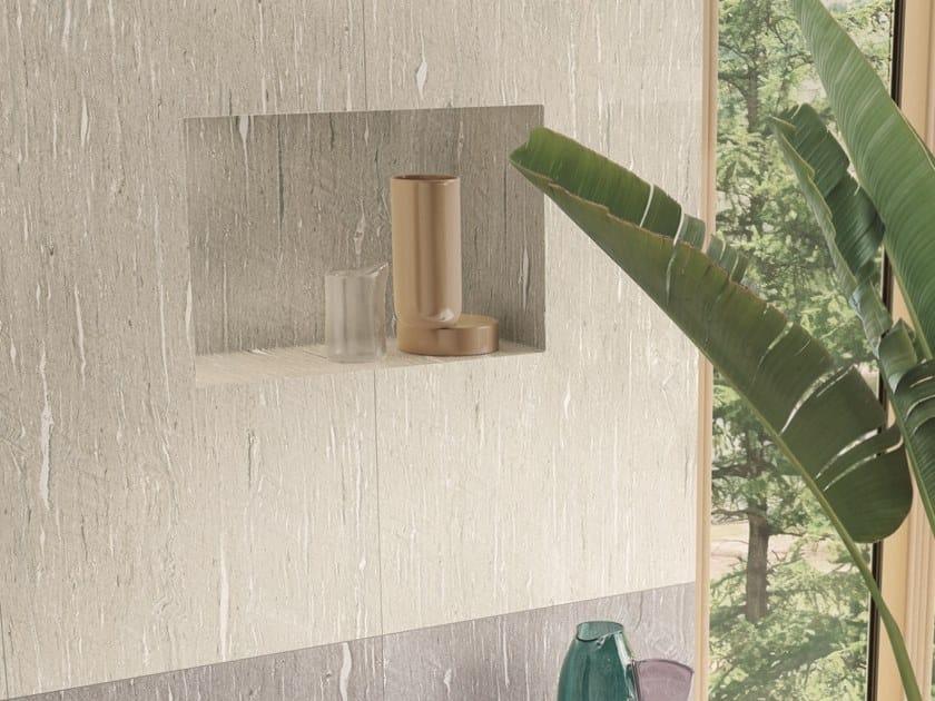 Pavimento/rivestimento ingelivo in gres porcellanato effetto pietra effetto pietra TIDE ROAD LIGHT VEIN by Marca Corona