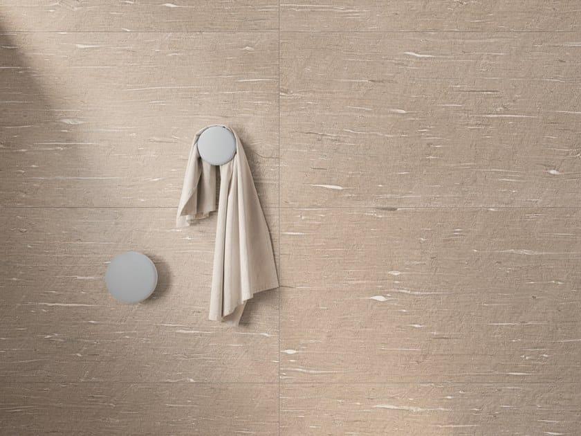 Pavimento/rivestimento in gres porcellanato effetto pietra per interni ed esterni TIDE ROAD SAND VEIN by Marca Corona