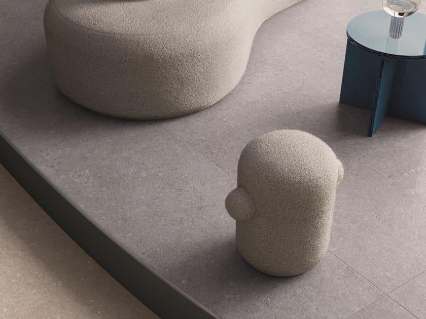 Pavimento/rivestimento in gres porcellanato effetto pietra per interni ed esterni TIDE ROAD SILVER CROSS by Marca Corona