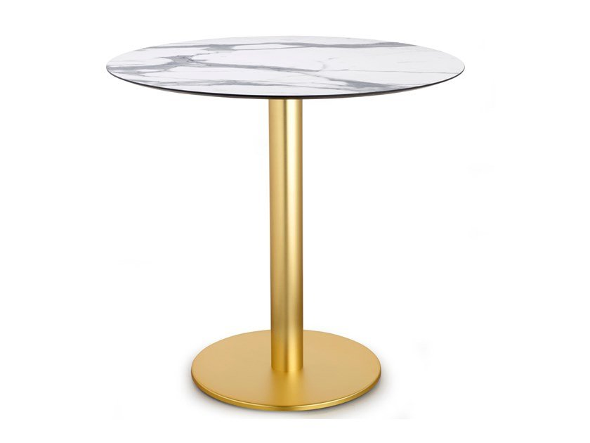 Round contract table TIFFANY Column Ø 80 mm by SCAB DESIGN