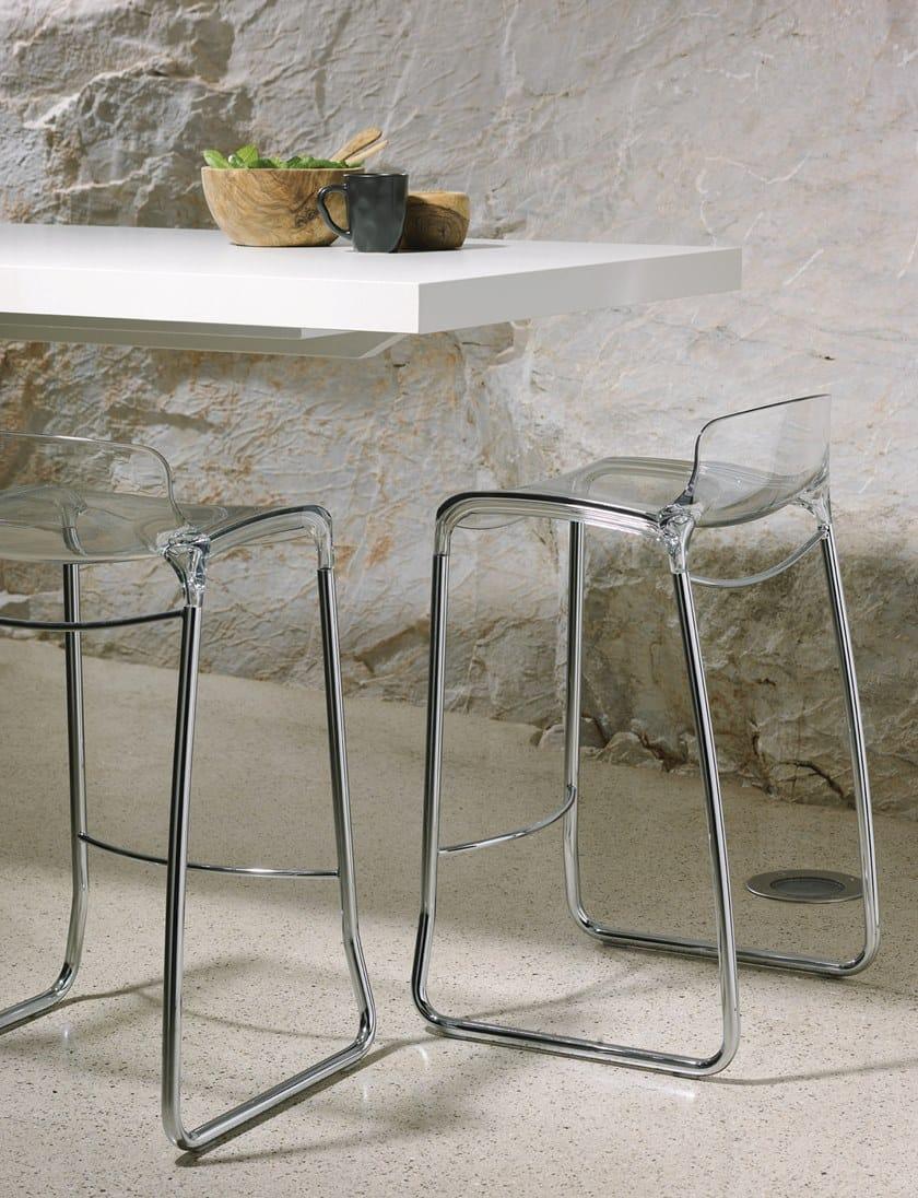 In Con Poggiapiedi A Da Casprini Moderno Slitta Stile Bar TiffanySgabello Nylon® 1JlKTFc