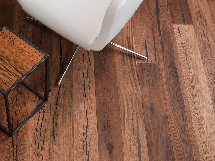 Oak flooring TIGER OAK BLACK - NATURAL OIL by mafi