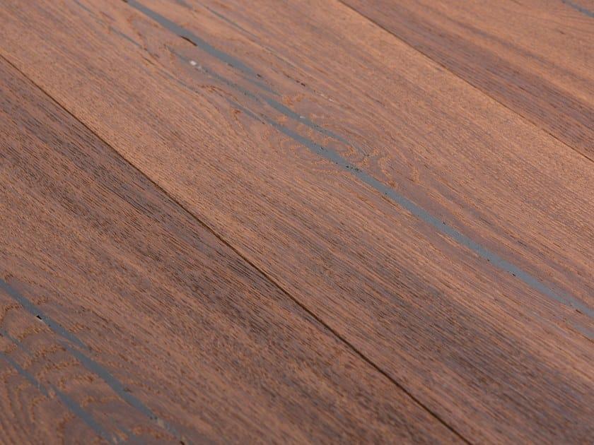 Oak flooring TIGER OAK BLACK - WHITE OIL by mafi