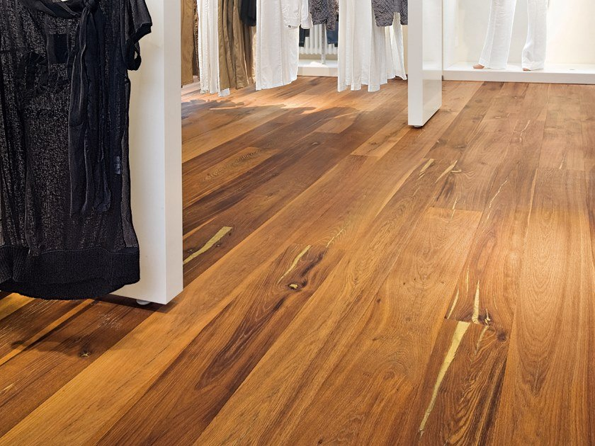 Oak flooring TIGER OAK GOLD - NATURAL OIL by mafi