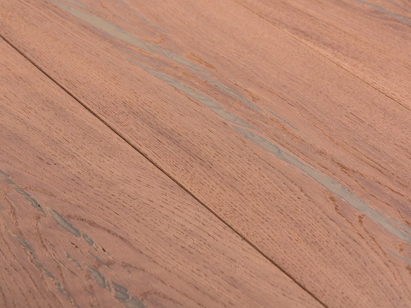 Oak flooring TIGER OAK GOLD - WHITE OIL by mafi