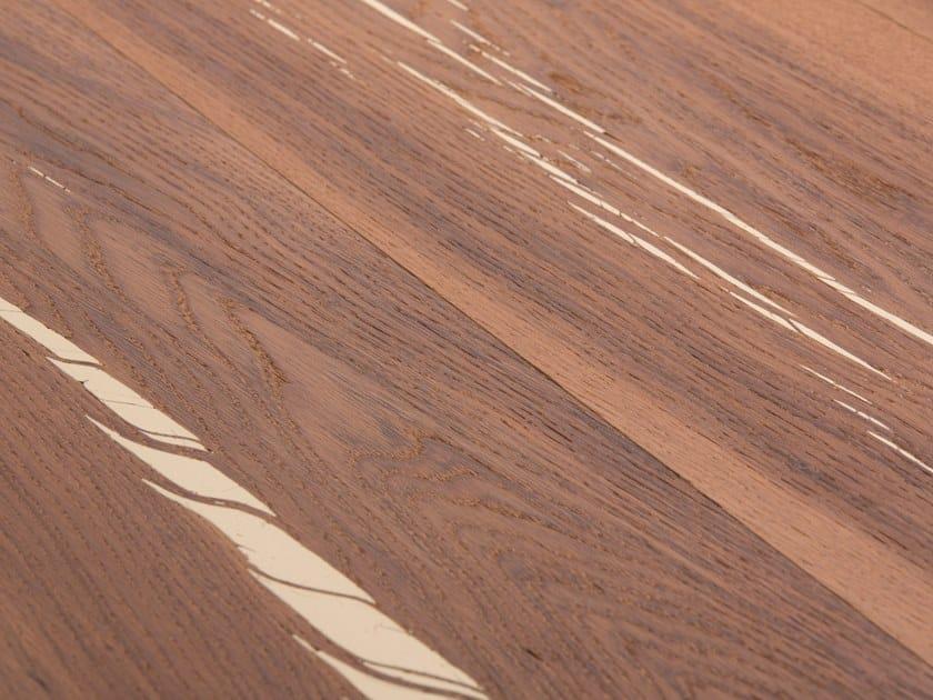 Oak flooring TIGER OAK WHITE - WHITE OIL by mafi