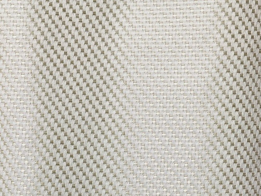 Solid-color fire retardant jacquard fabric TIGHT TWILL by Dedar