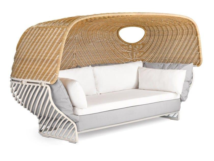 Igloo-shaped garden sofa TIGMI | Igloo-shaped garden sofa by Dedon