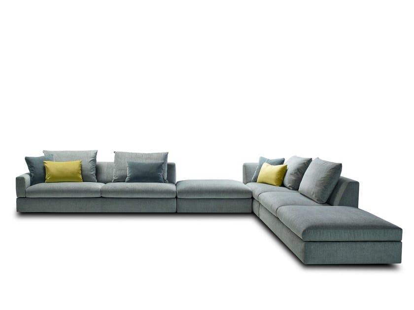 TIGRA DIVANBASE | Modular sofa By JORI design Verhaert New Products ...