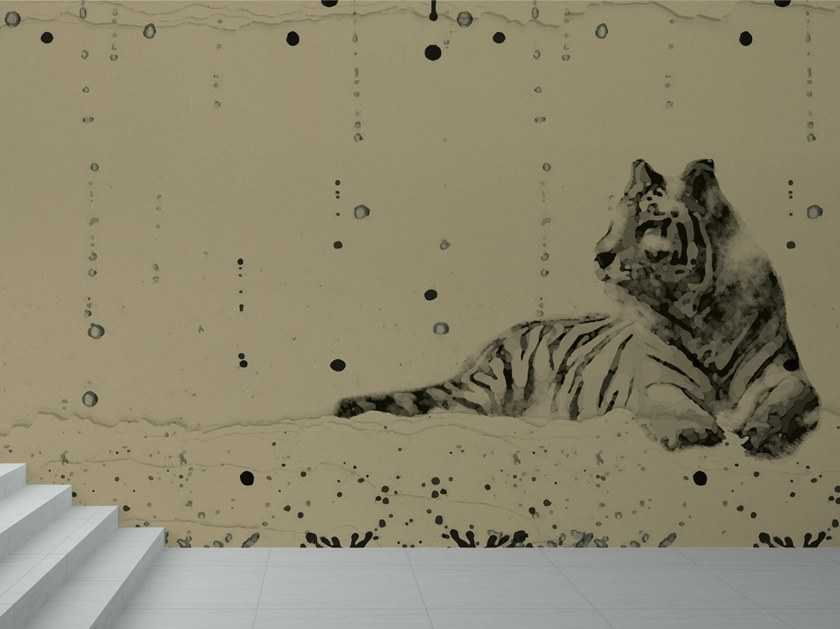 Vinyl wallpaper TIGRE by Baboon