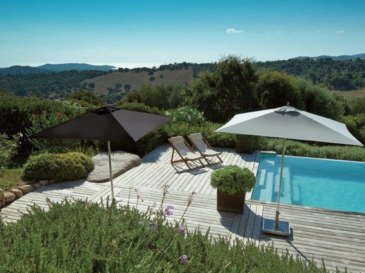 Acrylic Garden umbrella TIKI PUSH-UP PLUS by Jardinico