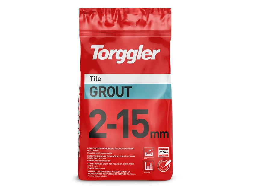 Flooring grout TILE GROUT 2-15 MM by Torggler Chimica