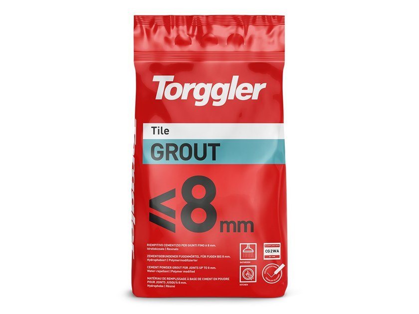 Flooring grout TILE GROUT ≤8 MM by Torggler Chimica