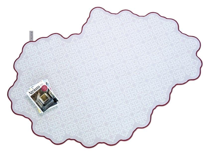 Wool rug TILES 002 by FLAT'N