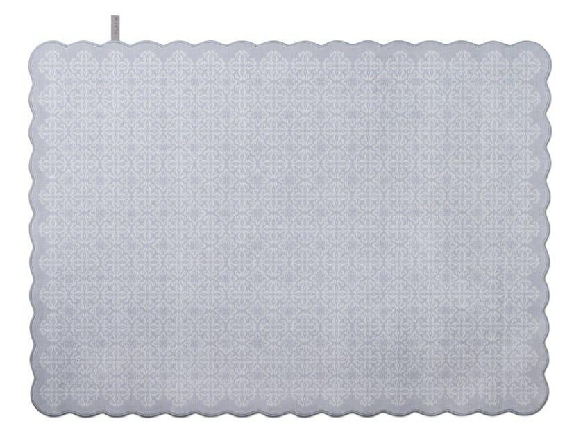 Wool rug TILES 006 by FLAT'N