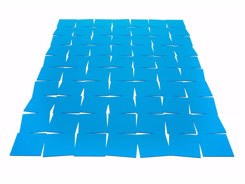 Rectangular felt rug TILES by HEY-SIGN