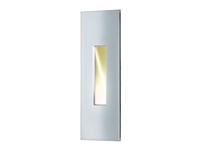 LED wall-mounted stainless steel steplight TILL by Quicklighting