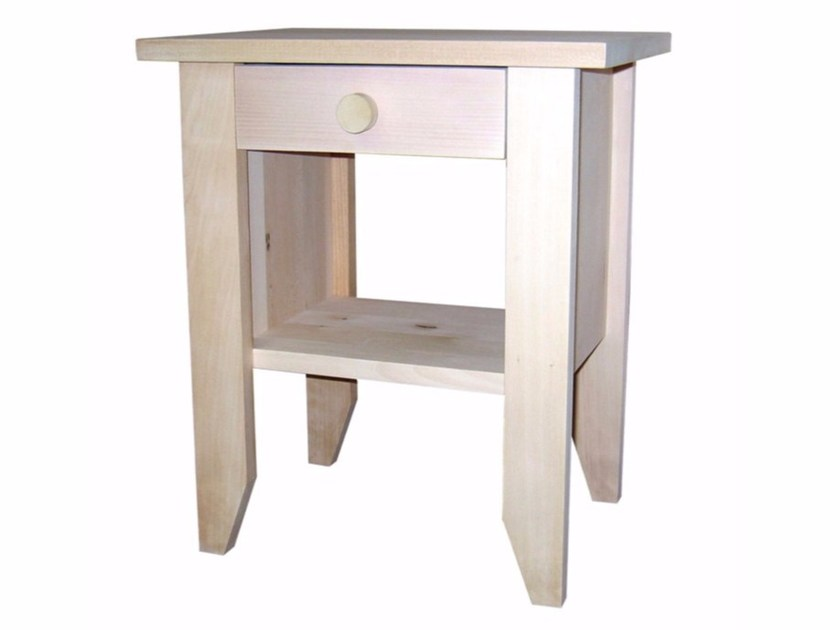 Wooden kids' bedside table with drawers TILLEUL | Kids' bedside table by Mathy by Bols
