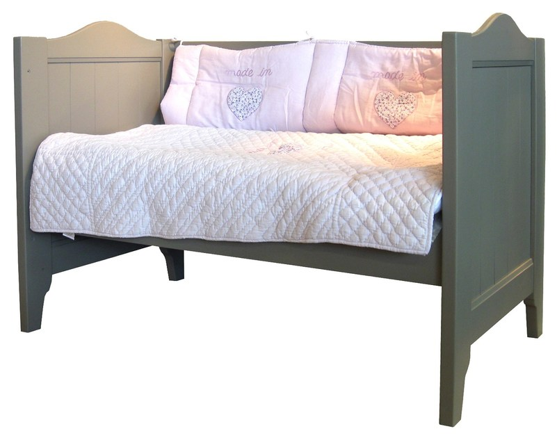 Wooden cot with storage space TILLEUL | Cot by Mathy by Bols
