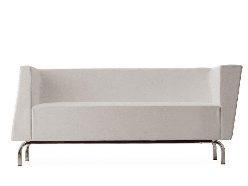 Fabric small sofa TILT   Small sofa by Cizeta L'Abbate