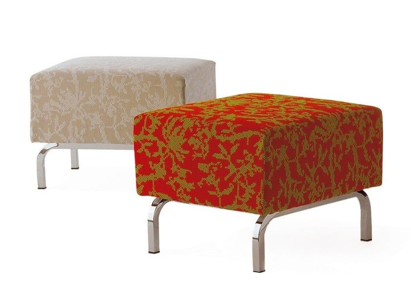 Rectangular fabric pouf TILT | Pouf by Cizeta L'Abbate