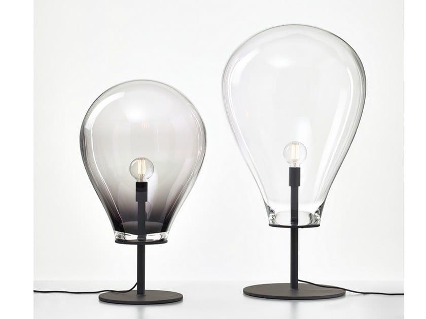 Lampada da terra in cristallo TIM | Lampada da terra by bomma