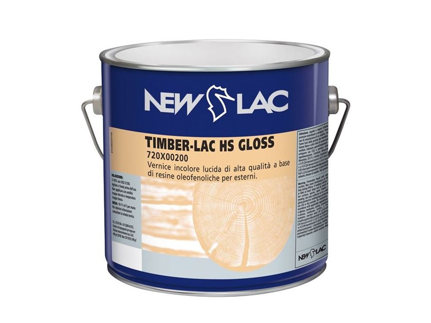 Vernice brillante incolore TIMBER-LAC HS GLOSS by NEW LAC