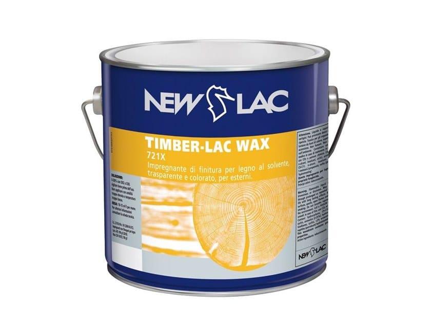 Impregnante di finitura trasparente e colorato TIMBER-LAC WAx by NEW LAC