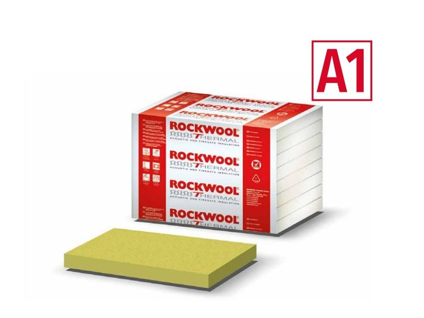Rock wool Thermal insulation panel TIMBEROCK by Rockwool Italia