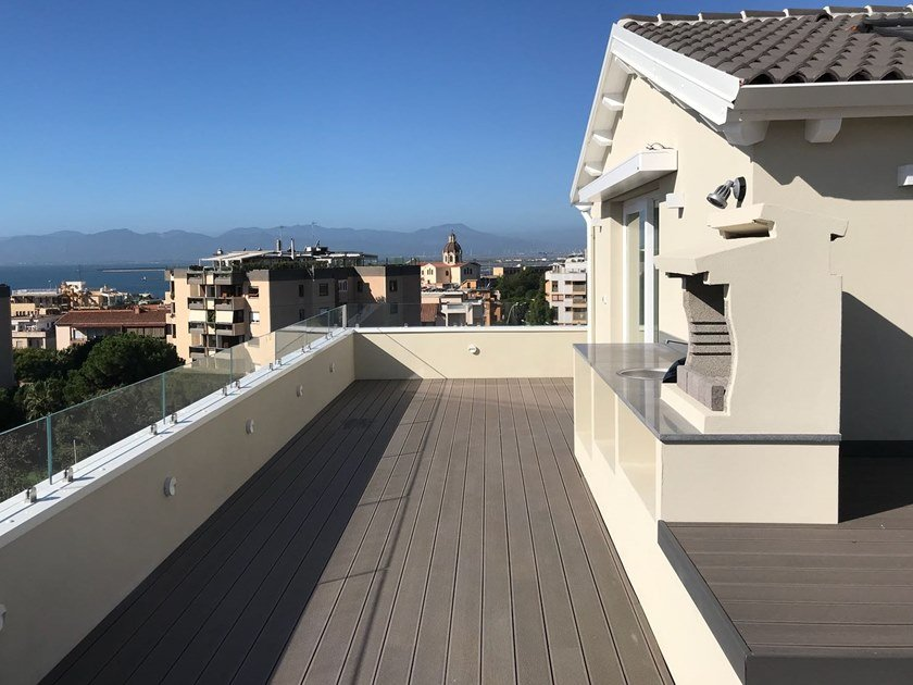 WPC decking TIMBY DECK ALVEOLARE 135 by TIMBY PARQUETS