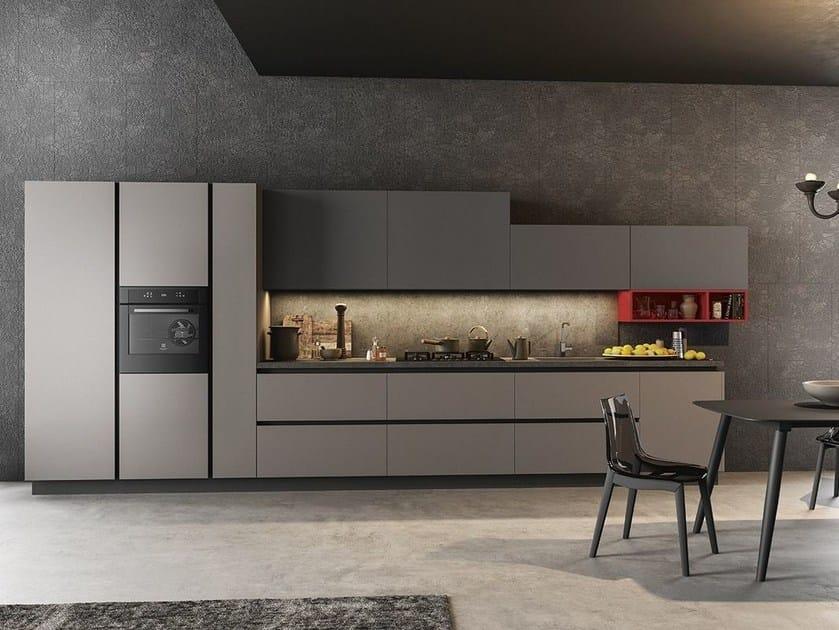 Cucina componibile con maniglie integrate TIME By ARREDO 3