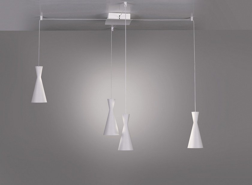 LED pendant lamp TIME By Cattaneo