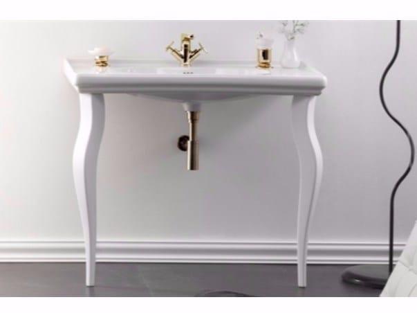Console ceramic washbasin TIME | Console washbasin by GSG Ceramic Design