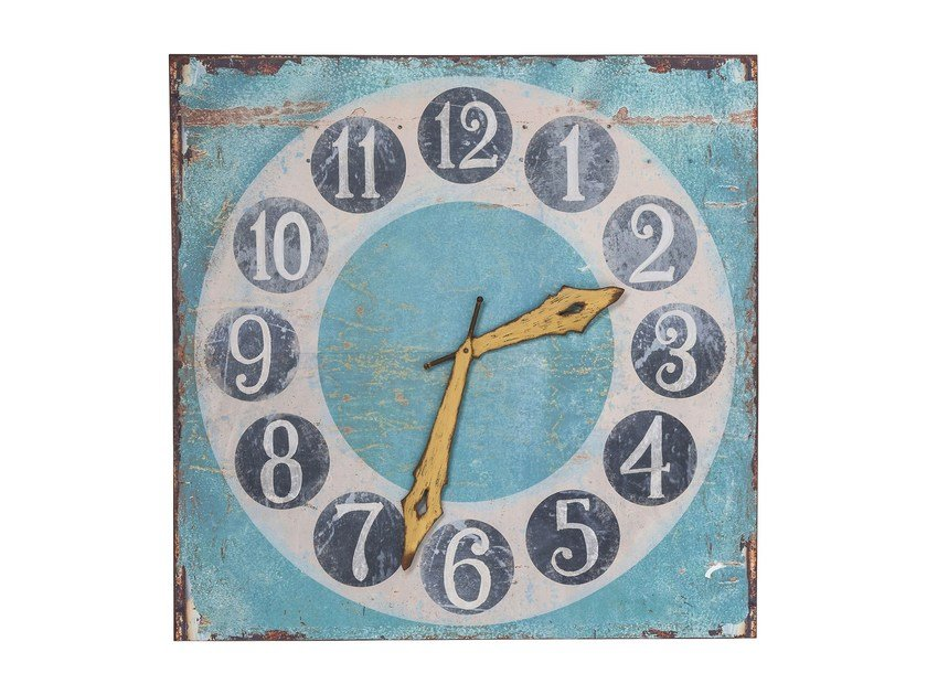 Steel wall decor item TIME IS COLORFUL by KARE-DESIGN