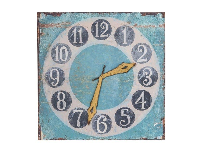Oggetto decorativo da parete in acciaio TIME IS COLORFUL by KARE-DESIGN