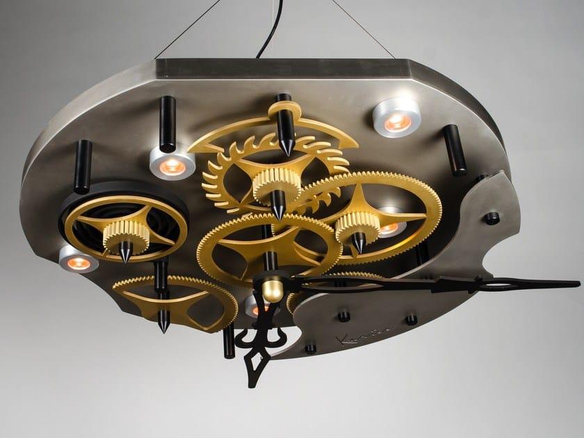 Lampada a sospensione a LED in alluminio TIME by Karice