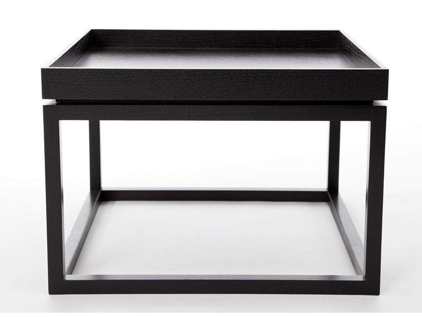 Square coffee table with tray TIME by NORR11