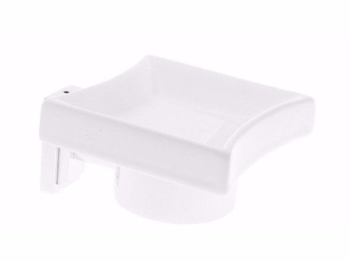 Wall-mounted ceramic soap dish TIME | Soap dish by GSG Ceramic Design
