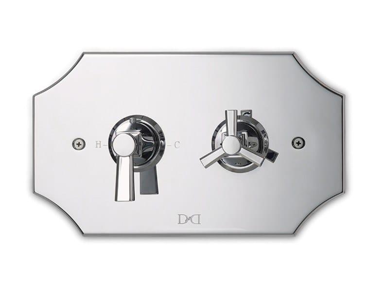 Misturador para duche termostática de latão TIME | Misturador para duche termostática by Devon&Devon