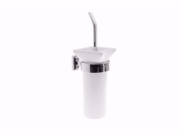 Wall-mounted toilet brush TIME | Wall-mounted toilet brush by GSG Ceramic Design