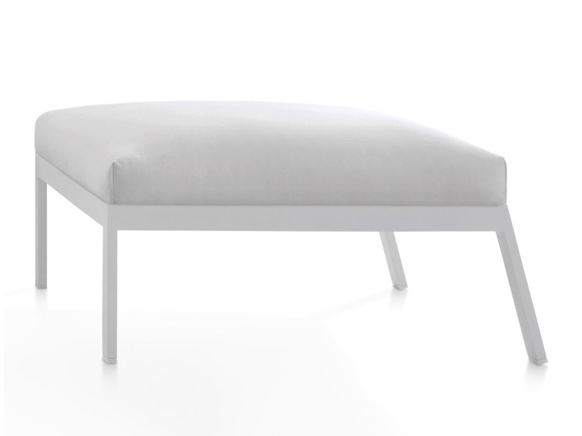 Powder coated steel footstool TIMELESS | Footstool by GANDIA BLASCO