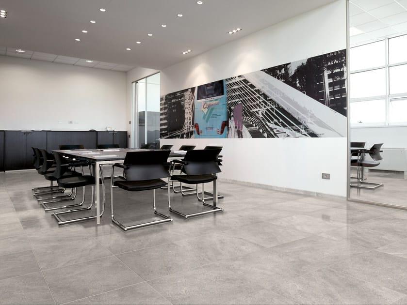 Glazed stoneware flooring TIMELESS STONE | Flooring by Ceramica Cercom